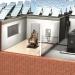 Chaise électrique à énergie solaire