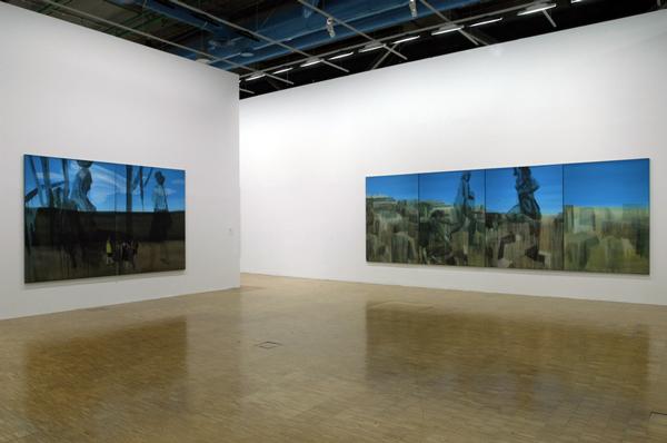 Exposition personnelle, Galerie sud du Centre Pompidou