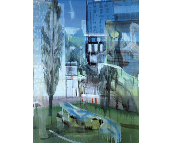 huile sur toile, 200 x 150 cm<br/>Collection particuli�re<br/>Cr�dit photo : Galerie Z�rcher, Paris
