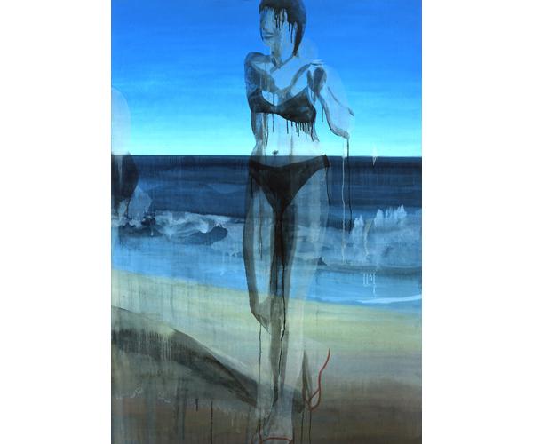 huile sur toile, 200 x 140 cm<br/>Collection particulière<br/>Crédit photo : Galerie Zürcher, Paris
