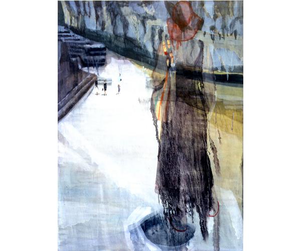 huile sur toile, 200 x 150 cm<br/>Collection particulière<br/>Crédit photo : Galerie Zürcher, Paris