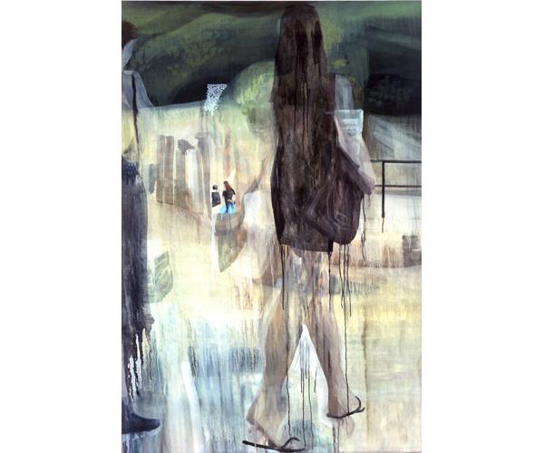 huile sur toile, 195 x 130 cm<br/>Collection particulière<br/>Crédit photo : Galerie Zürcher, Paris