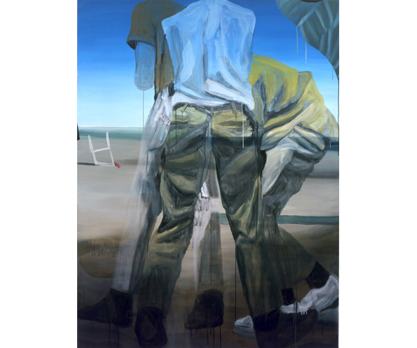 huile sur toile, 200 x 150<br/>Collection particuli�re<br/>Cr�dit photo : Galerie Z�rcher, Paris