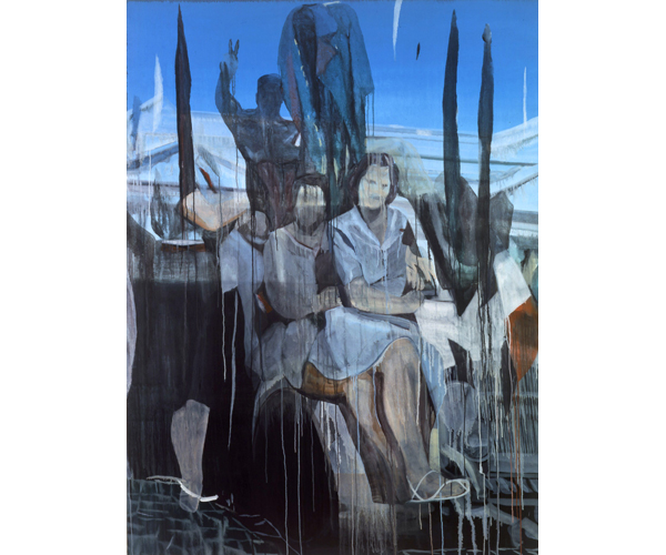 huile sur toile, 200 x 150<br/>Collection Centre national des arts plastiques<br/>Crédit photo : Galerie Zürcher, Paris