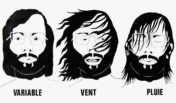 Météo : Variable, Vent, Pluie, 1970