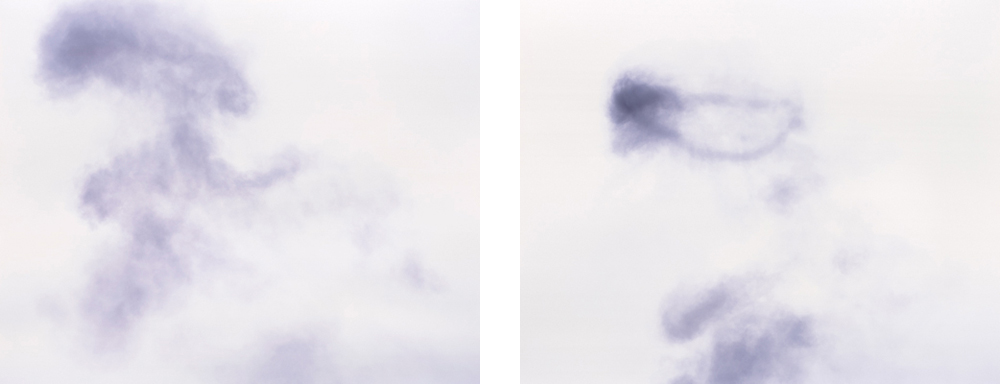 Les nuages 1 & 2, 2008