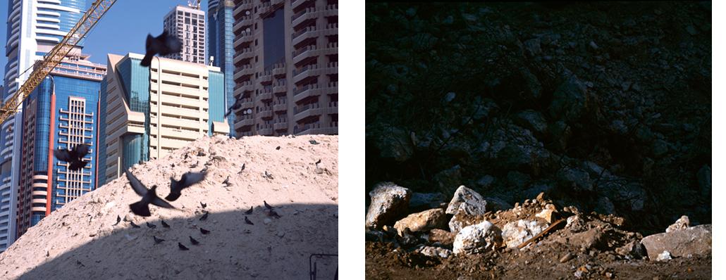 Cityphase II et Sans titre (Devant), 2009