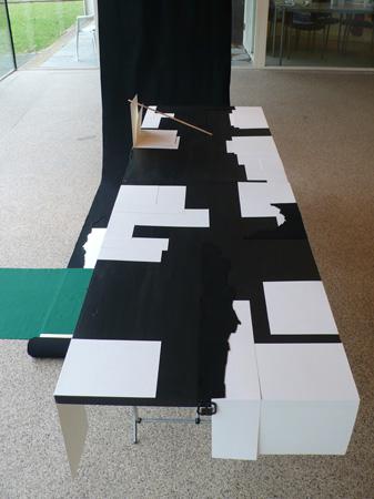 Vue de l'exposition Teken Zet Foundation, 2010