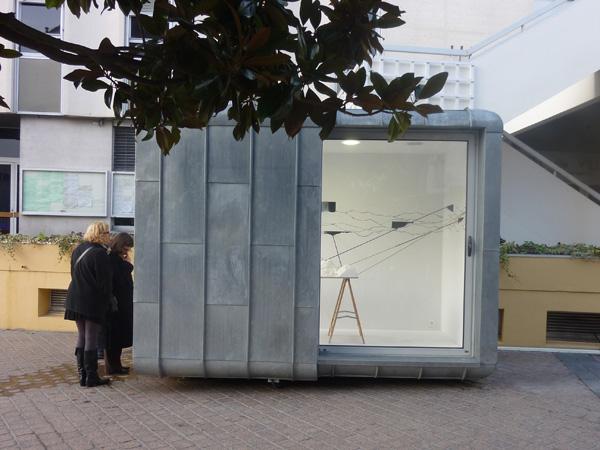 Vue du projet La Borne, Chatellerault, 2010