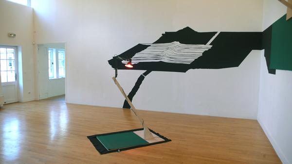 Vue de l'exposition Dessin partout, 2009