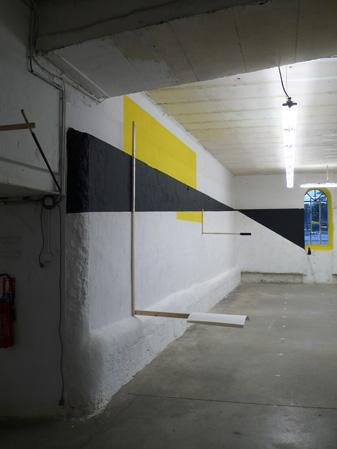 Vue de l'exposition 4 brassées, Saint-Étienne 2012