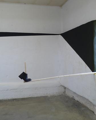 Olivier Nottellet, vue de l'exposition 4 brassées, Saint-Étienne 2012