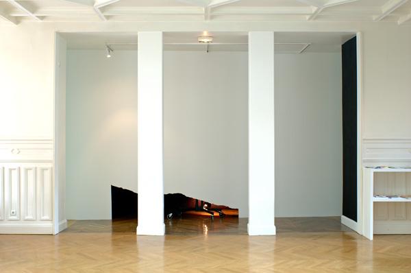 Vue de l'exposition, Olivier Nottellet, 2006