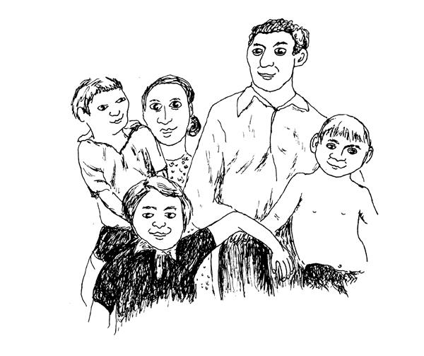Géraldine Kosiak, Carnet de famille, 2006
