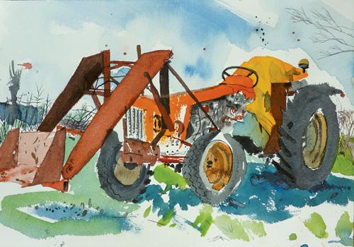 Tracteur, 2012