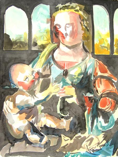 Jean-Xavier Renaud, Vierges à l'enfant, 2006