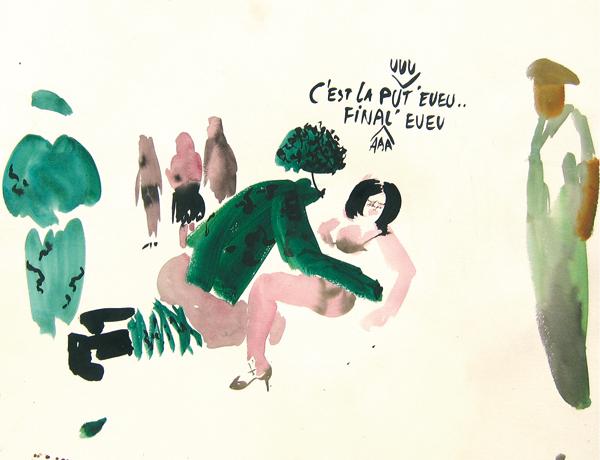 C'est la pute finale, 2008