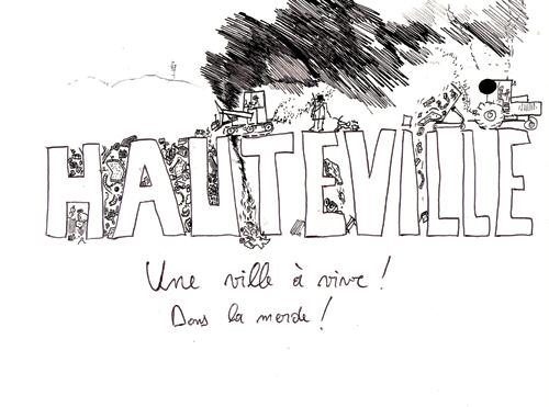 Hauteville, une ville à vivre dans la merde, 2011