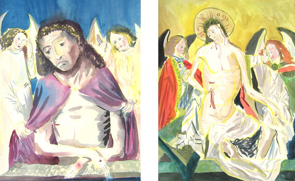 Christ de douleur 1 et 2, 2006