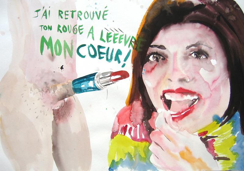 Rouge à lèvre, 2009