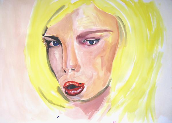Femme limace, 2005
