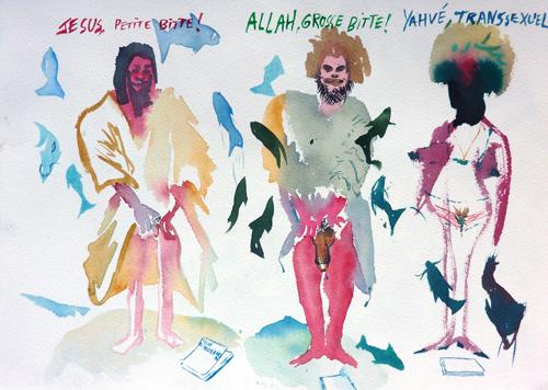 Jesus, Allah, Yahvé, 2012