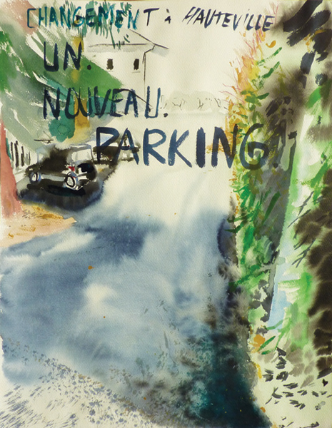 Un nouveau parking, 2010