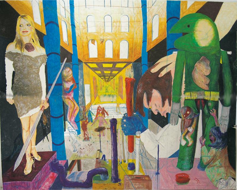 Peinture britnet, 2005