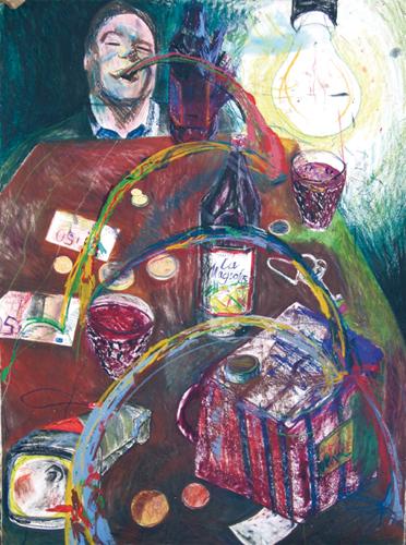 Lampe de poche argent de poche, 2007