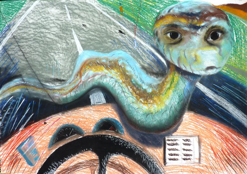 Serpent dans le pare brise, 2010