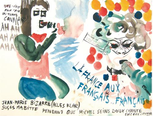 Jean-Marie Bizarre et Michel Seins Doux, 2008
