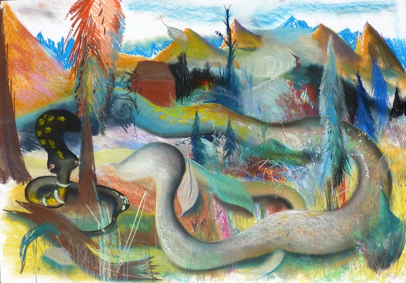Serpent dans le bugey, 2010