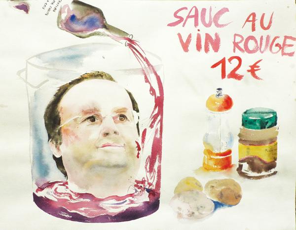 Sauc' au vin rouge, 2010