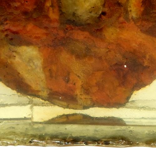 <i>Second lare</i> - détail peinture