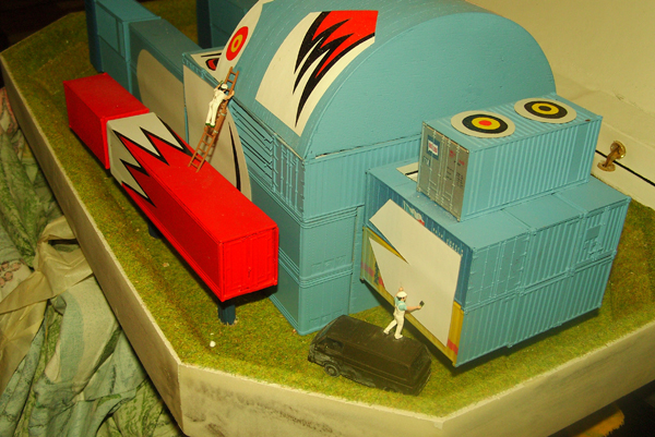 Project for A Giant Robot Studio, 2011