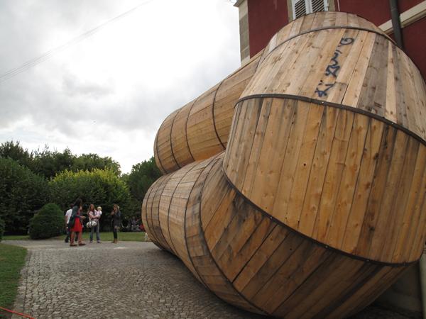 Vue de l'exposition <i>Le Trou</i>, Villa Bernasconi, Genève, 2012<br/>4/10