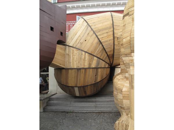 Vue de l'exposition <i>Le Trou</i>, Villa Bernasconi, Genève, 2012<br/>8/10