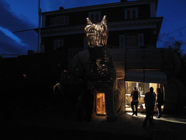Vue de l'exposition <i>Le Trou</i>, Villa Bernasconi, Genève, 2012<br/>10/10