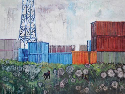 Peintures sur papier, 2010