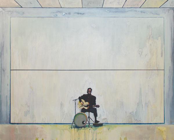 Johann Rivat - Alkyde sur toile, 200 x 160 cm