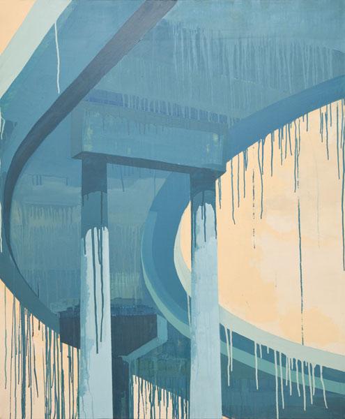 Acrylique sur toile, 120 x 100 cm