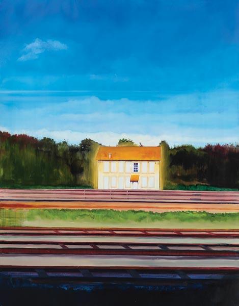 Huile sur toile, 146 x 114 cm