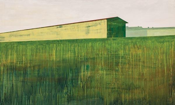 Alkyde et acrylique sur toile, 200 x 120 cm