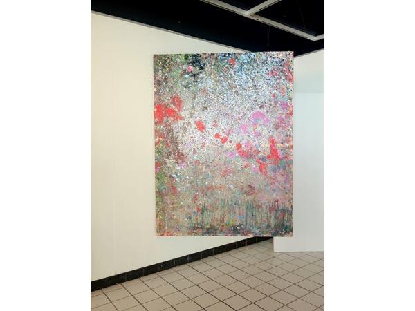 Alkyde et peinture de carrosserie sur bâche plastique, 220 x 300 cm</br>8/19
