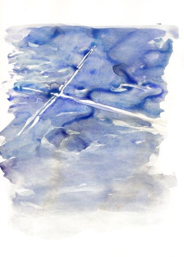 Dessin sur papier, 21 x 29,7 cm