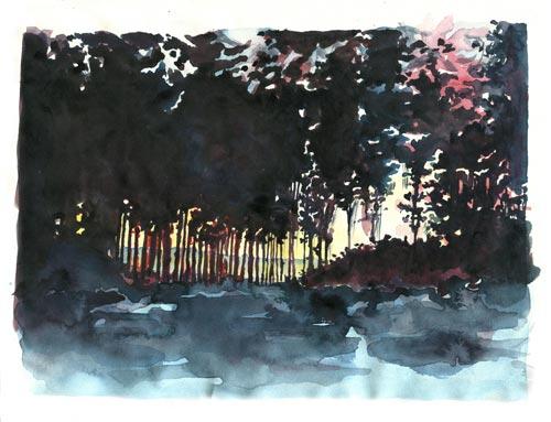 Dessin sur papier, 29,7 x 21 cm