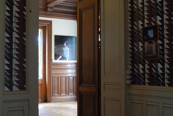 Dans les plis sinueux des vieilles capitales, vue d'exposition, Maison Populle, Roanne