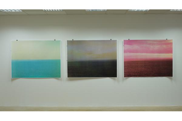 Vue de l'exposition, Centre d'Arts Plastiques de Sains-Fons,<br/>en Résonance avec la Biennale de Lyon