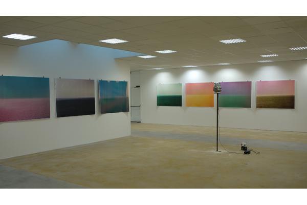 Vue de l'exposition, Centre d'Arts Plastiques de Sains-Fons,<br/>en R�sonance avec la Biennale de Lyon