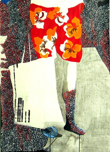 Documents d'artistes Auvergne - Rhône-Alpes - Leslie Amine